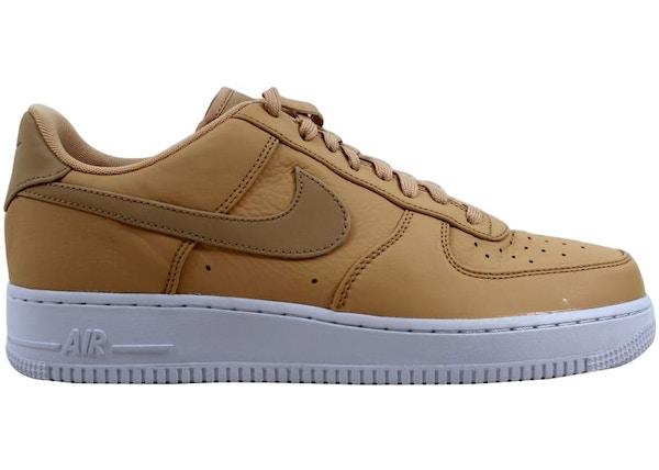 najlepsze buty klasyczne buty podgląd Nike Air Force 1 '07 Prm Vachetta Tan/Vachetta Tan