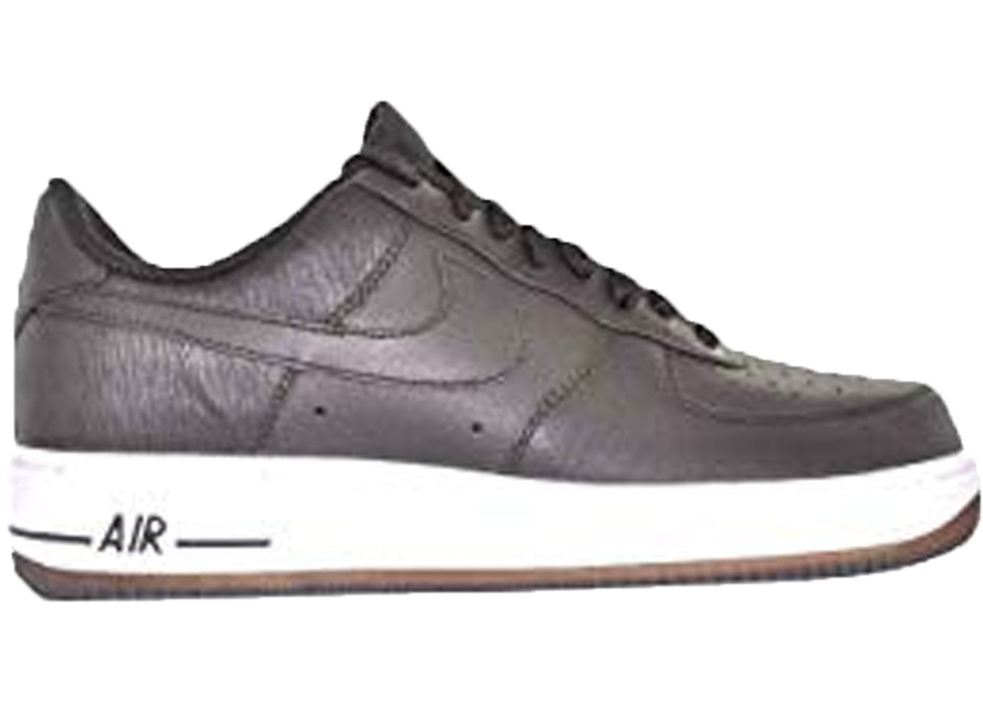 vacío Bergantín Drama  Nike Air Force 1 07 Velvet Brown White - 315122-202