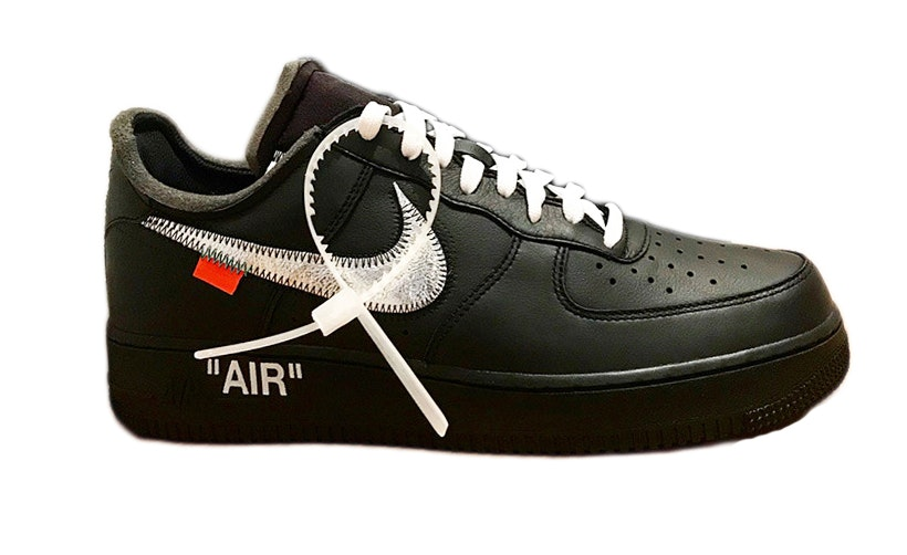 Air Force 1 '07 Virgil x MoMA (No Socks)
