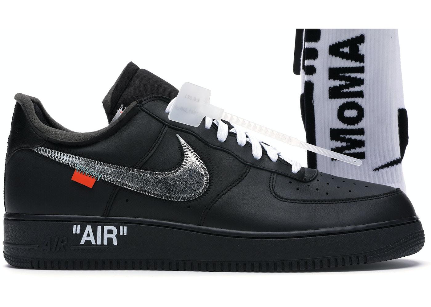 período Cerdo Inseguro  Nike Air Force 1 '07 Virgil x MoMA (With Socks) - AV5210-001