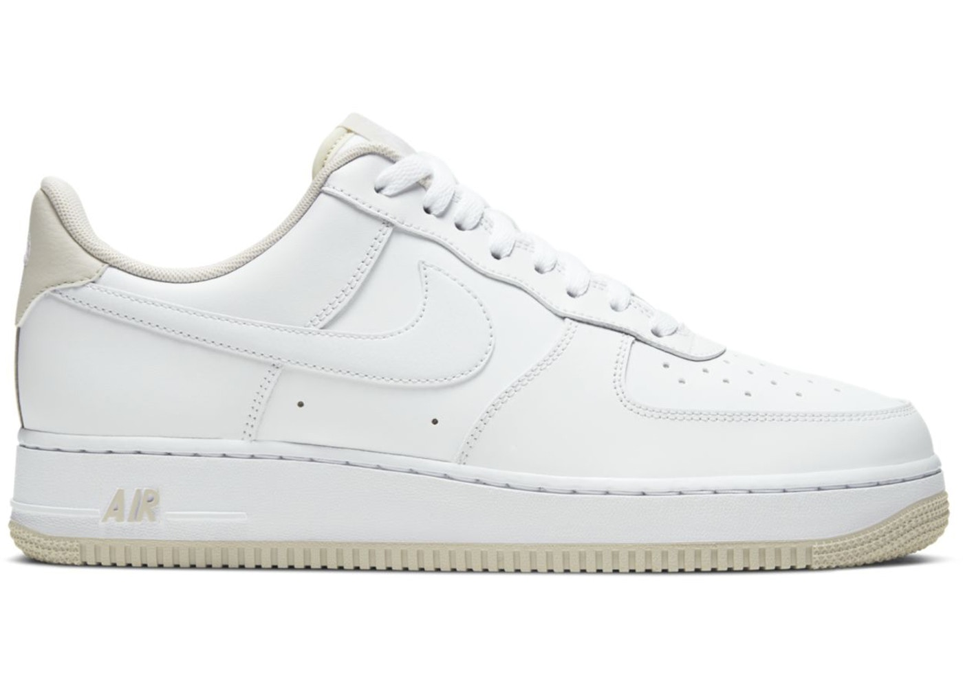 Limón Ropa Fanático  Nike Air Force 1 '07 White Light Bone - CJ1380-101