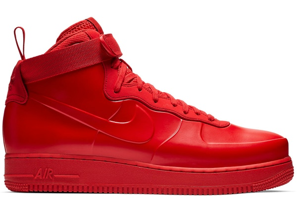 the best attitude ebd41 b9543 Air Force 1 Foamposite Cup University Red