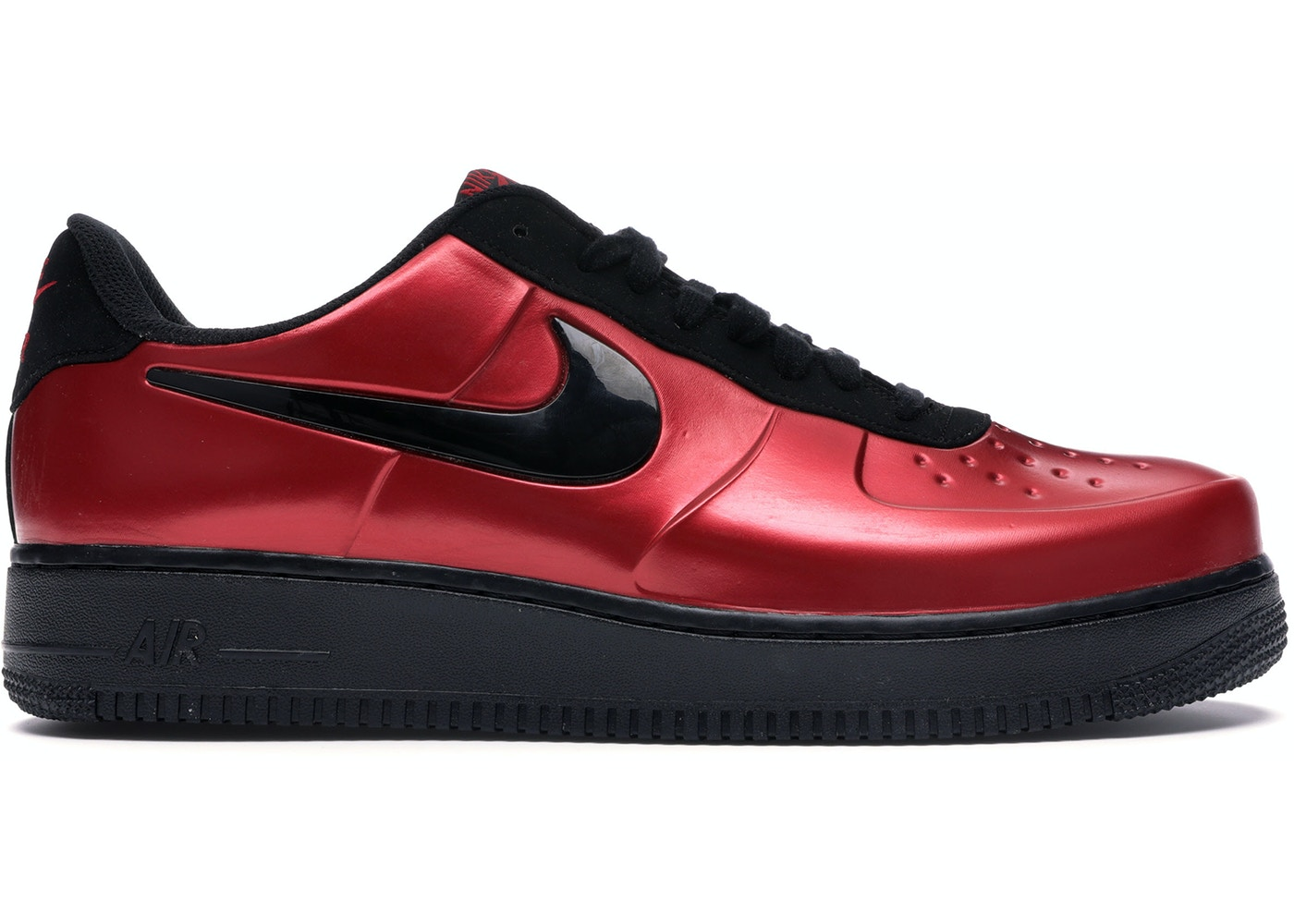 new concept 31a3b 87c22 Air Force 1 Foamposite Pro Cup Gym Red Black