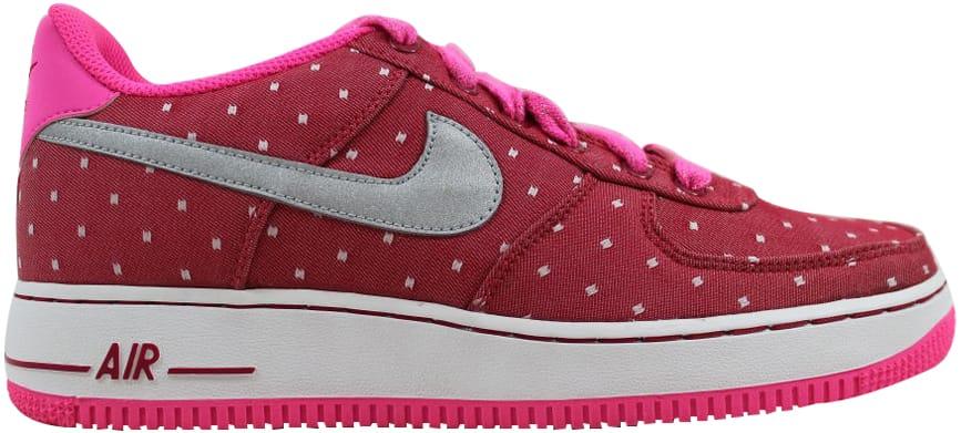 Nike Air Force 1 Dark Red (GS) - 314219-603