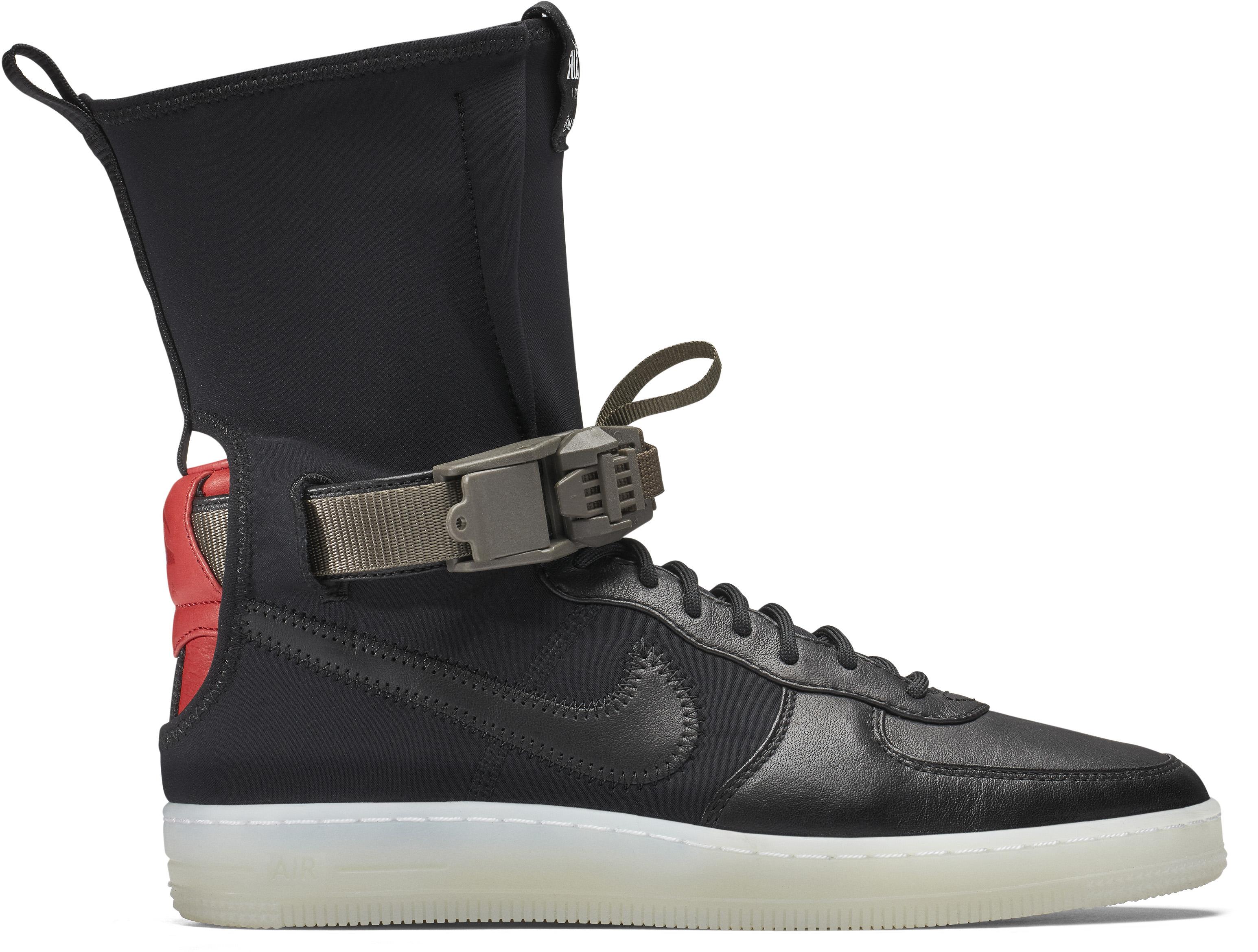 Nike Air Force 1 Downtown Acronym Black