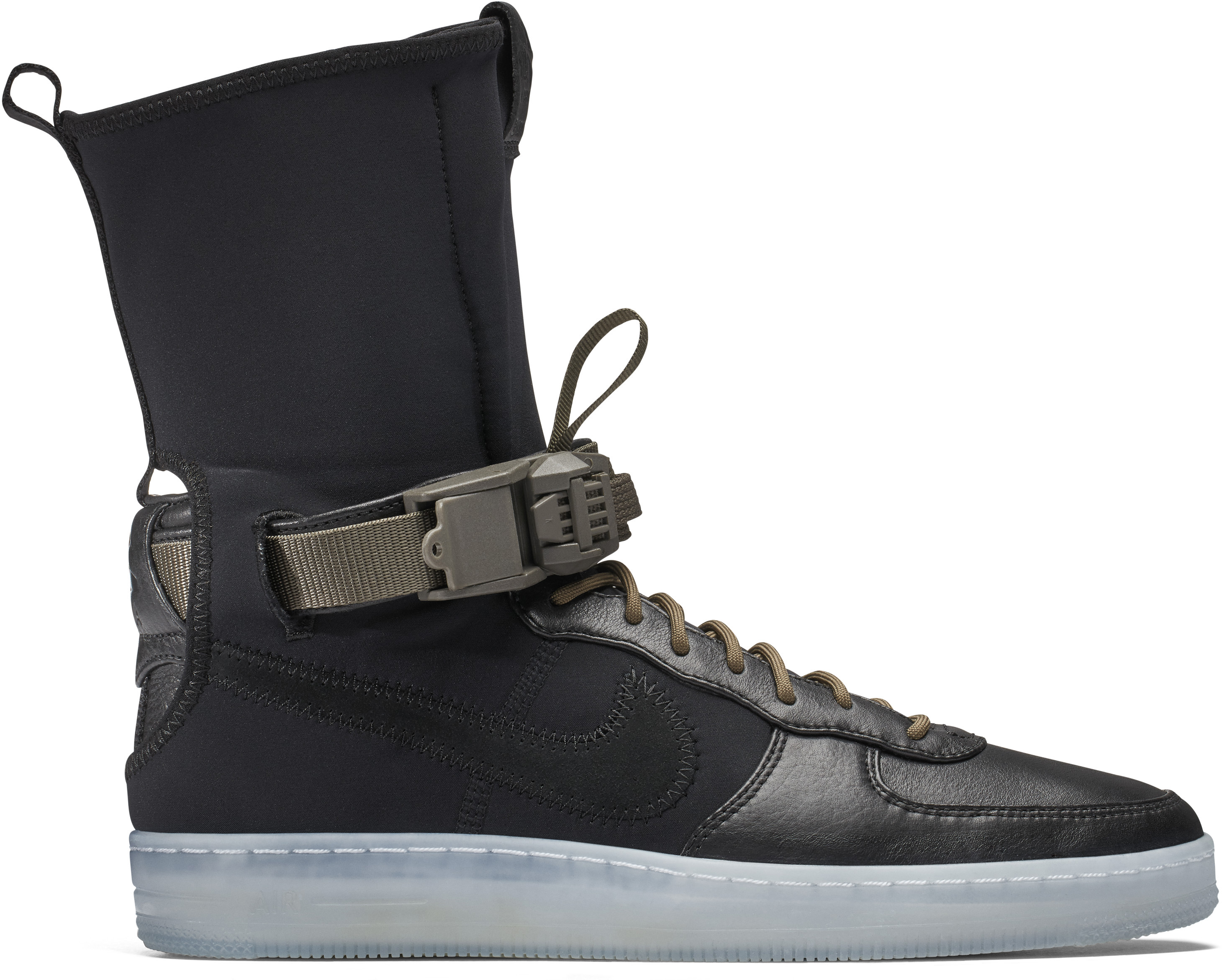 Air Force 1 Downtown Acronym Black Olive