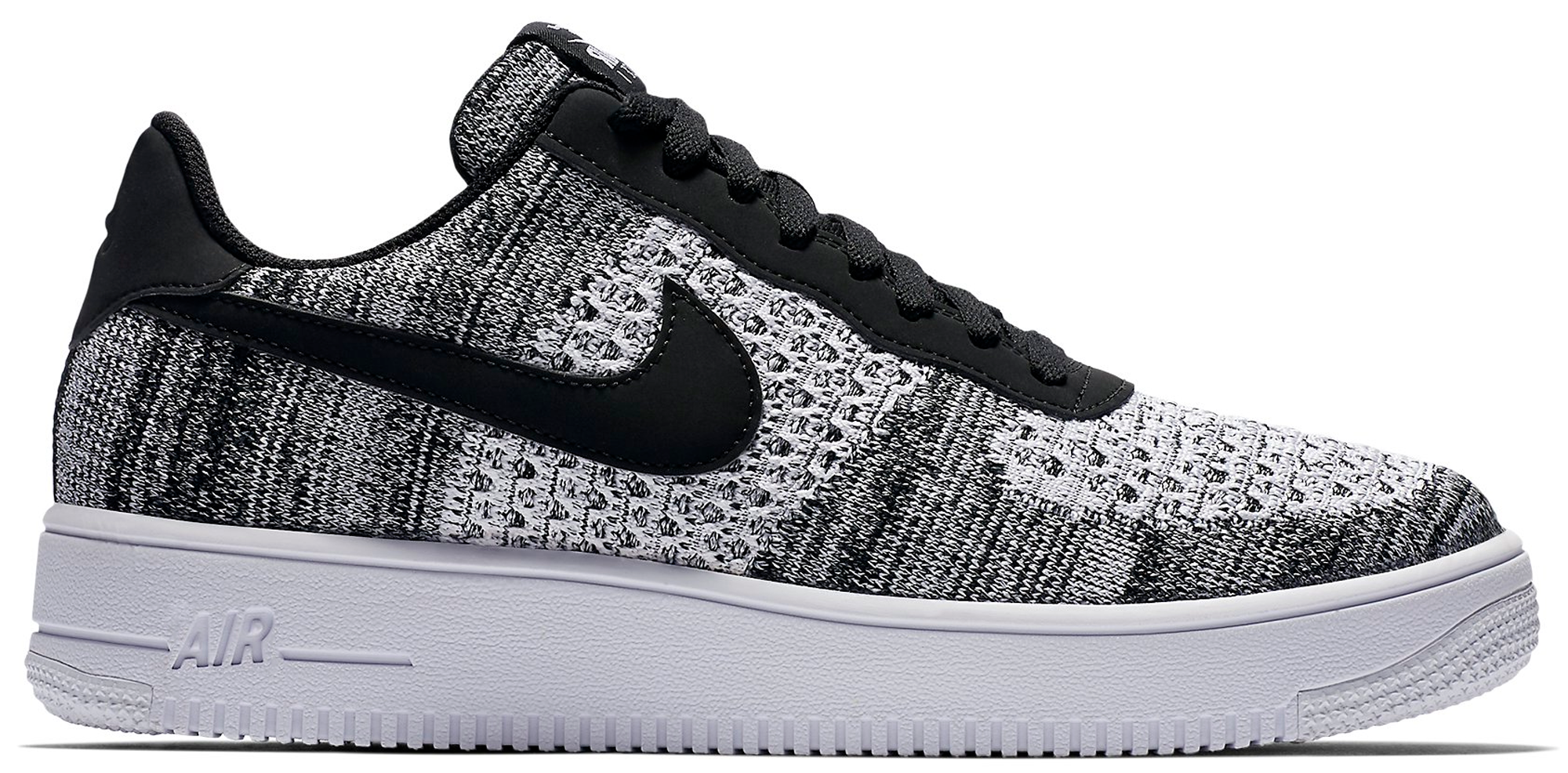 Air Force 1 Flyknit 2 Black Pure Platinum