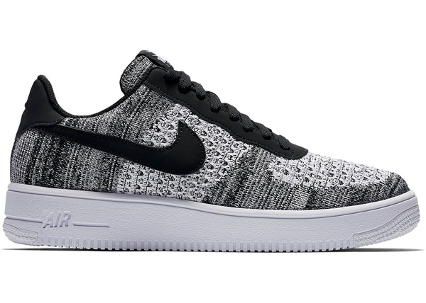 check out 44783 1973f Air Force 1 Flyknit 2 Black Pure Platinum