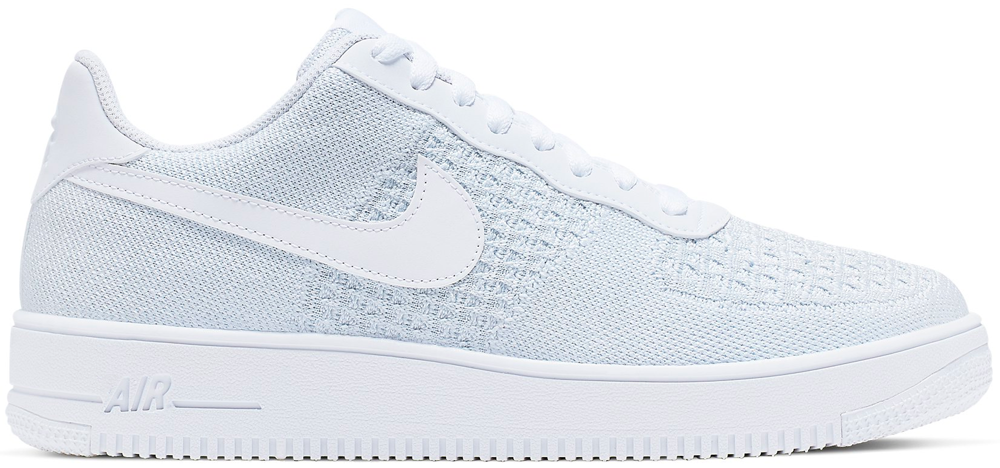 Air Force 1 Flyknit 2 White Pure Platinum