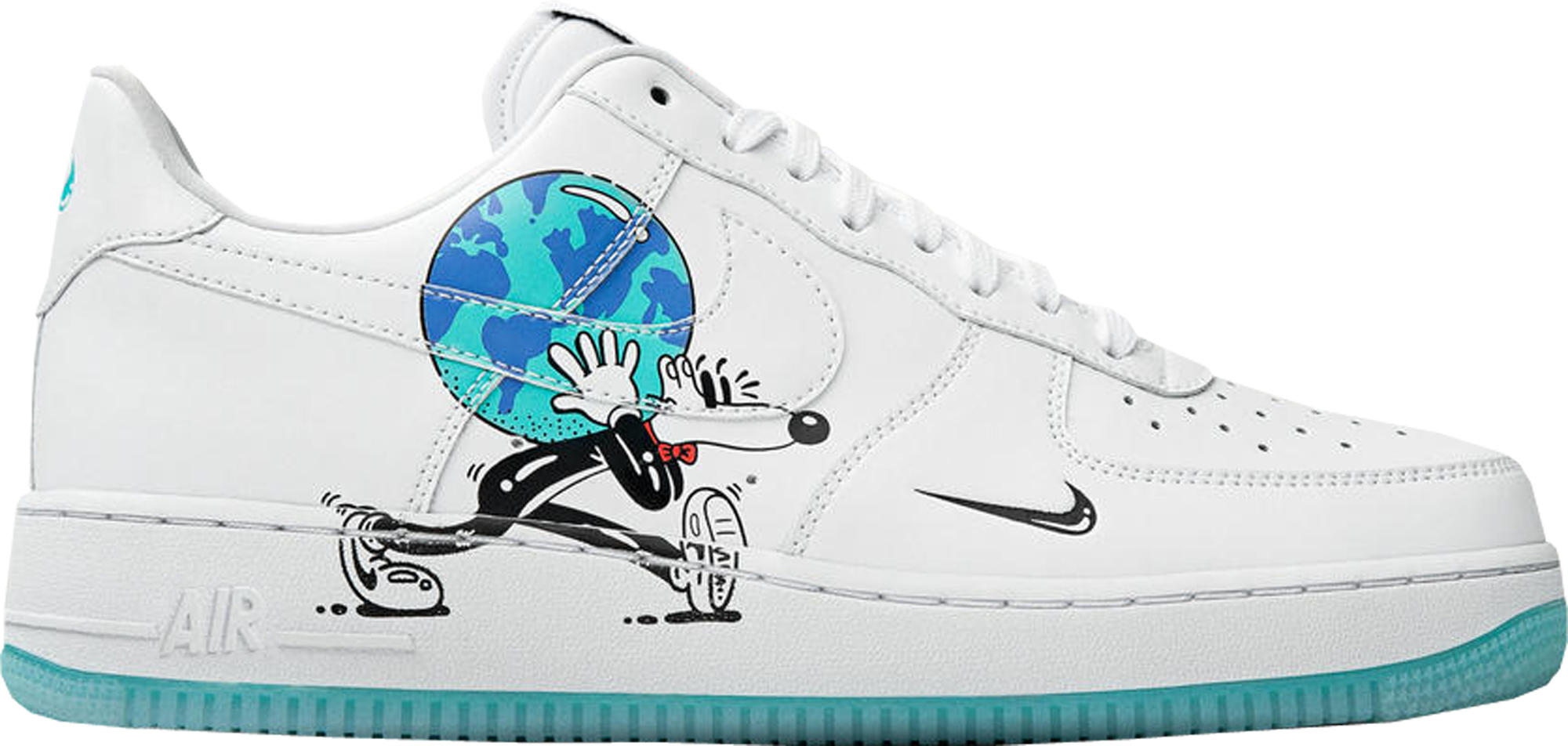 Air Force 1 Flyleather Steve Harrington Earth Day (2019)