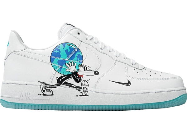 low priced 84743 ed747 Air Force 1 Flyleather Steve Harrington Earth Day (2019)