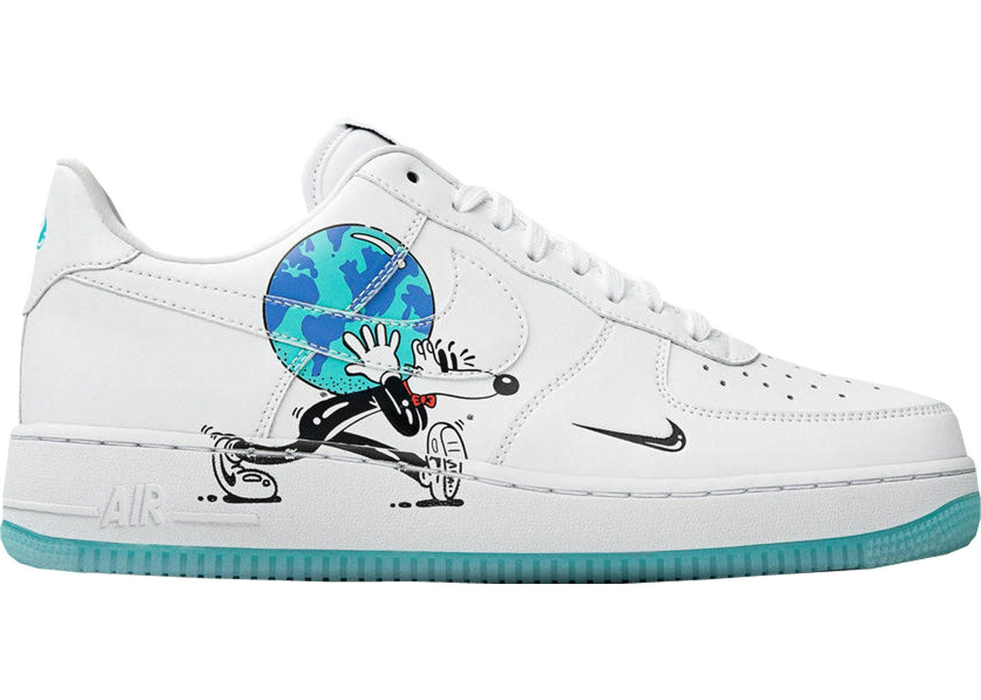 c19870d9 Air Force 1 Flyleather Steve Harrington Earth Day (2019) - CI5545-100