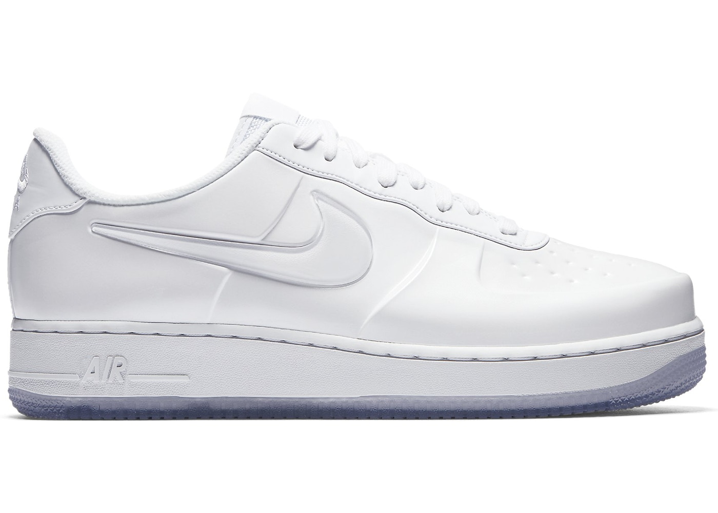 online store 27d17 f065a Air Force 1 Foamposite Pro Cup Triple White