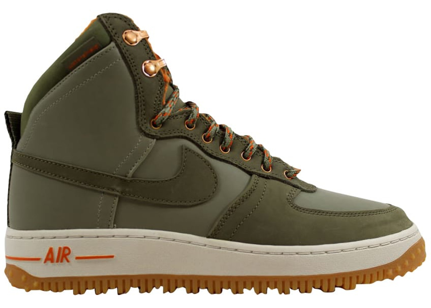 new products 31294 6f13e Air Force 1 Hi Decon Military Boot Silver Sage - 537889-300