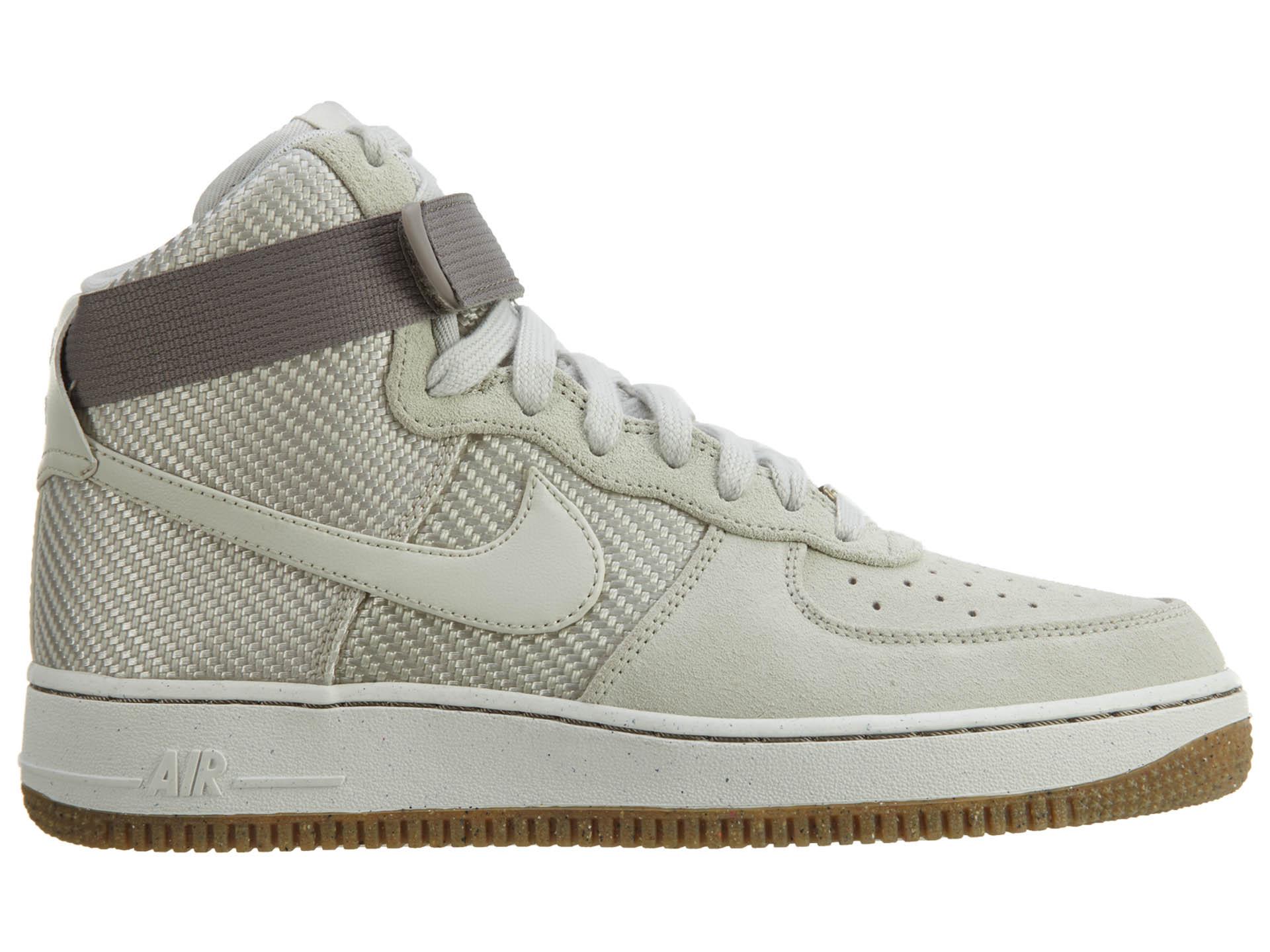 Nike Air Force 1 Hi Prm Light Bone Os