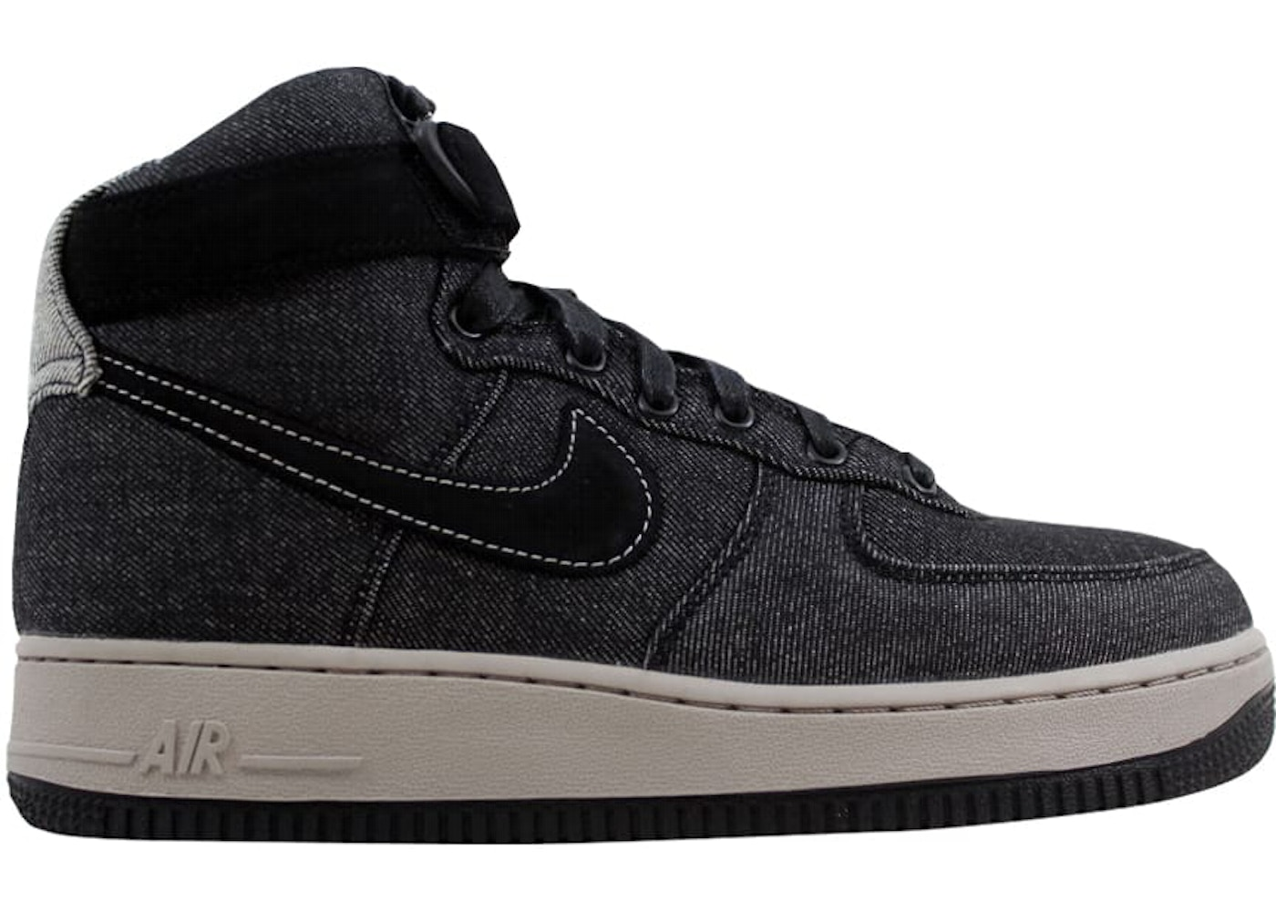 finest selection a59a7 ad43a Sell. or Ask. Size --. View All Bids. Nike Air Force 1 Hi SE Denim Black Dark  Grey-Cobblestone ...
