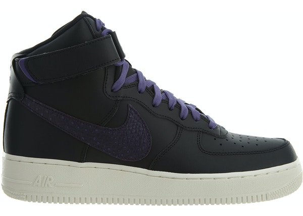 69463ebae9c6c3 Air Force 1 High 07 LV8 Black Court Purple-Sail - 806403-014