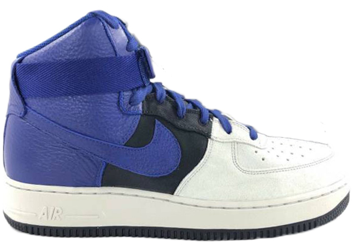 free shipping a333f 17aa5 Nike Air Force 1 High  07 Lv8 Pure Platinum Deep Royal Blue - 806403-009