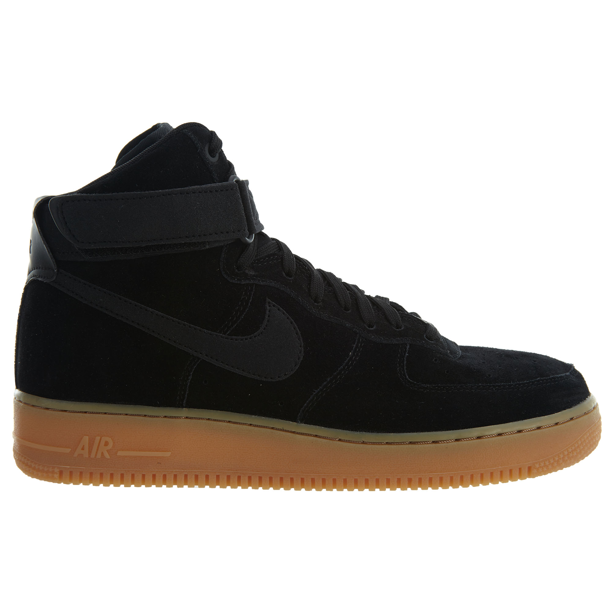 Nike Air Force 1 High 07 Lv8 Suede BlackBlack Gum Med Brown