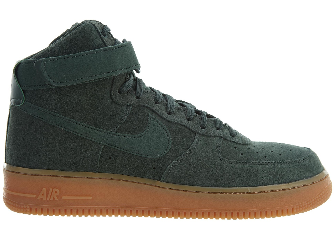 new concept 0b950 b3f9f Nike Air Force 1 High 07 Lv8 Suede Vintage Green/Vintage Green