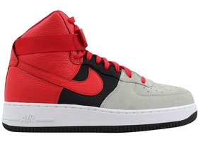 the latest 86d45 22c76 Nike Air Force 1 High '07 Lv8 Wolf Grey/University Red-Black