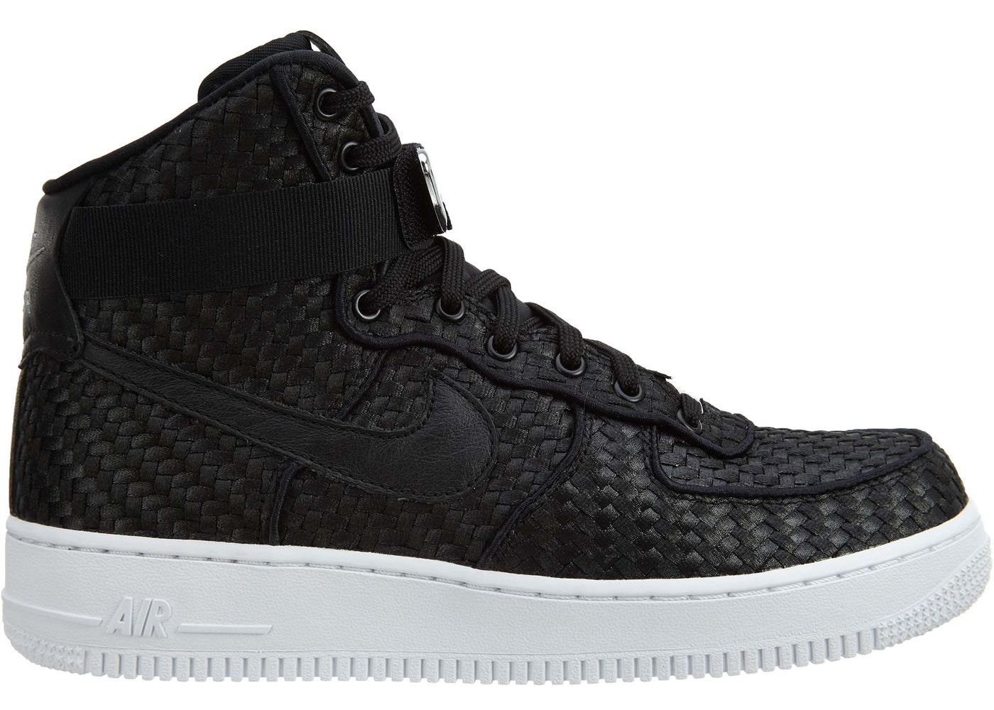 7e97113682f Sell. or Ask. Size --. View All Bids. Nike Air Force 1 High 07 Lv8B Woven  Black Black-White