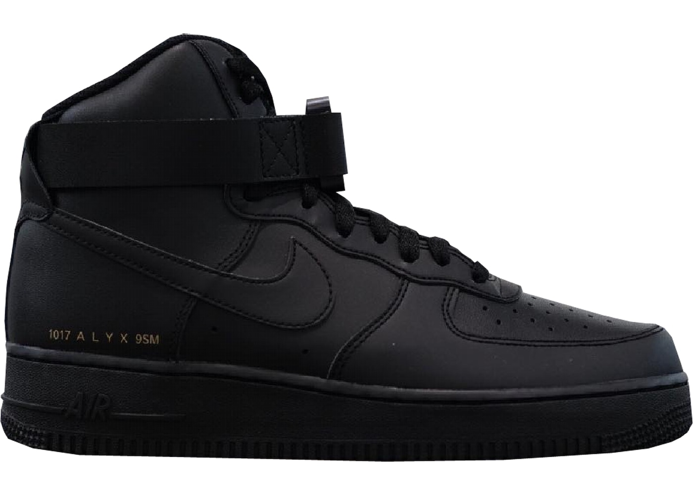 ALYX x Nike Air Force 1 High Black For Sale