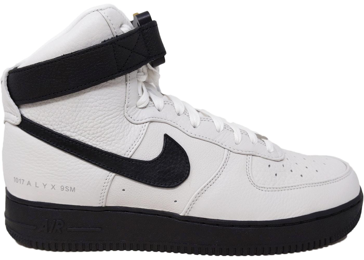 Nike Air Force 1 High Alyx White Black 2020 Cq4018 101
