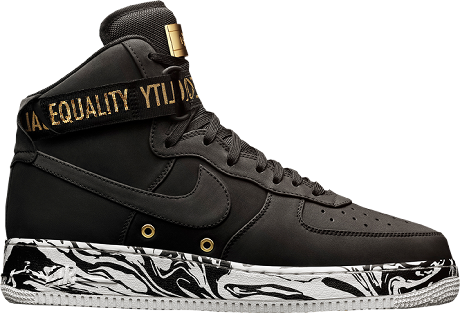 silver gold mens nike air force 1 high shoes. Black Bedroom Furniture Sets. Home Design Ideas