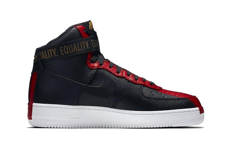 Nike Air Force 1 Mois Noir Dhistoire À Vendre