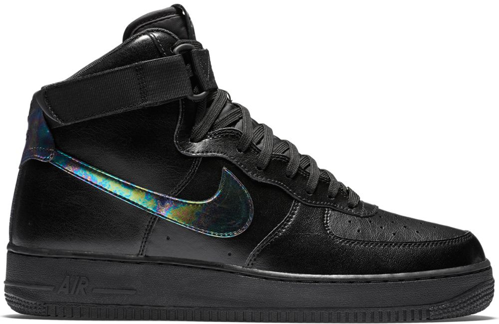 Nike Air Force 1 High Black Iridescent
