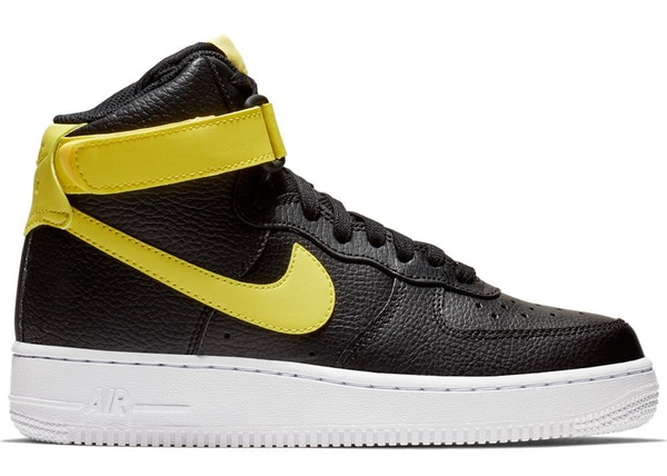 Air Force 1 High Black Yellow Pulse (W)