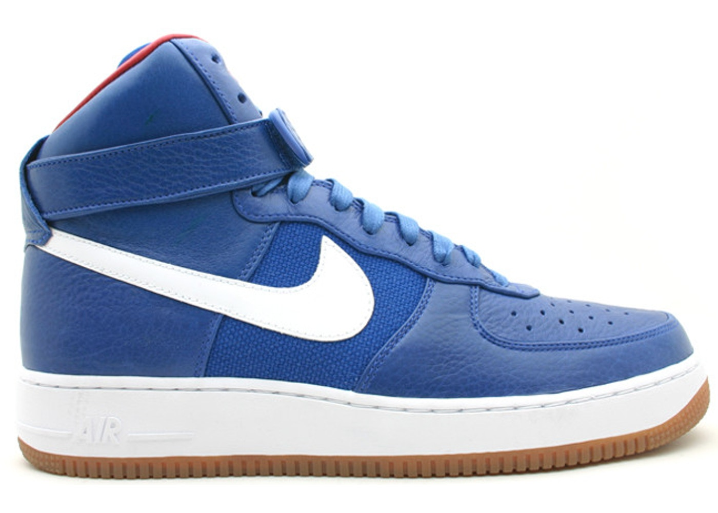 wholesale dealer 3abc9 64083 Air Force 1 High Bobbito Puerto Rico Blue