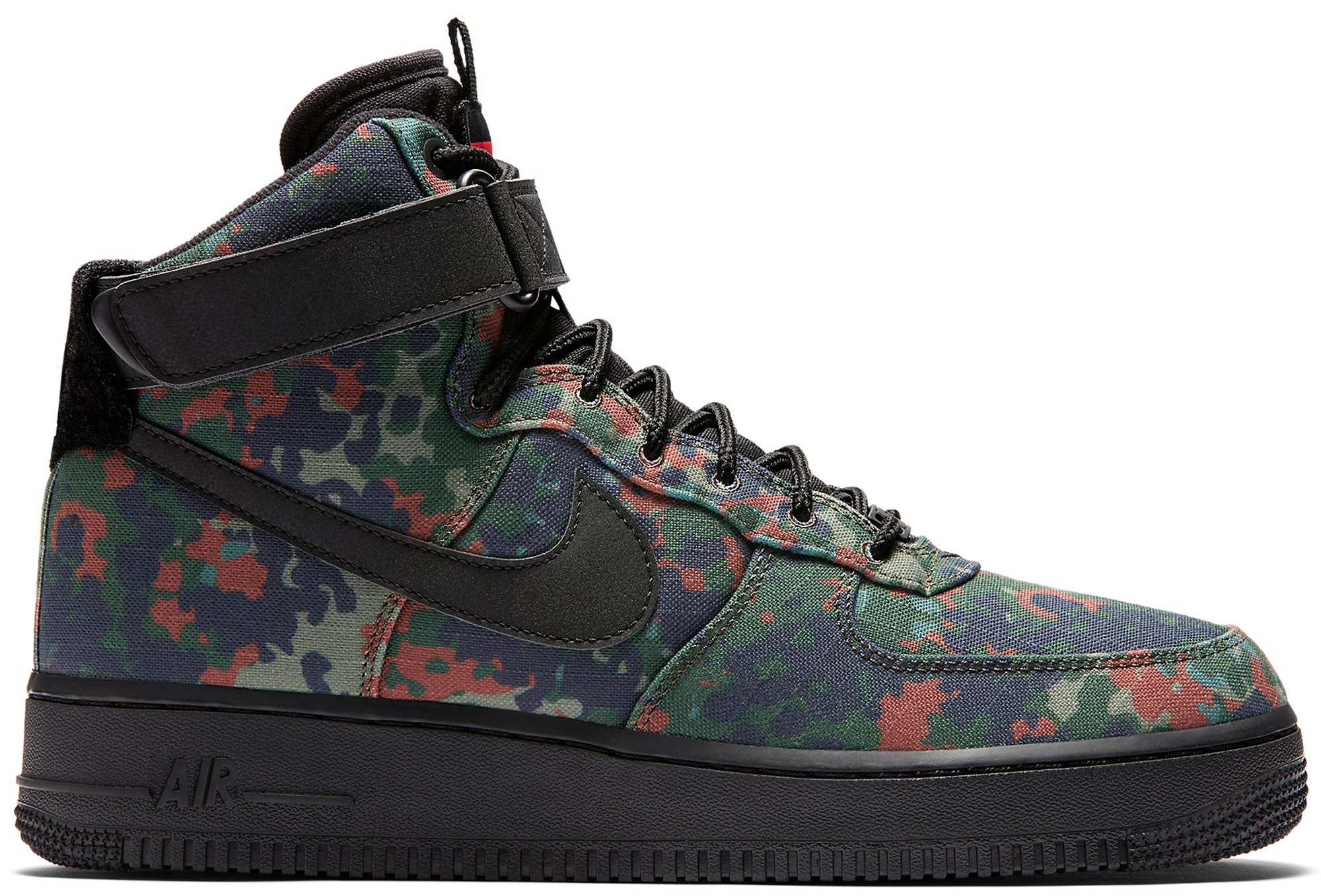 Air Force 1 High Country Camo Germany in Multi-Color/Black