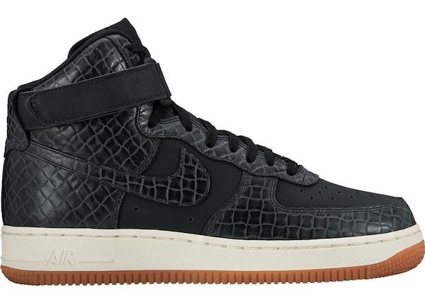 Air Force 1 High Croc Black Gum (W) 654440 009