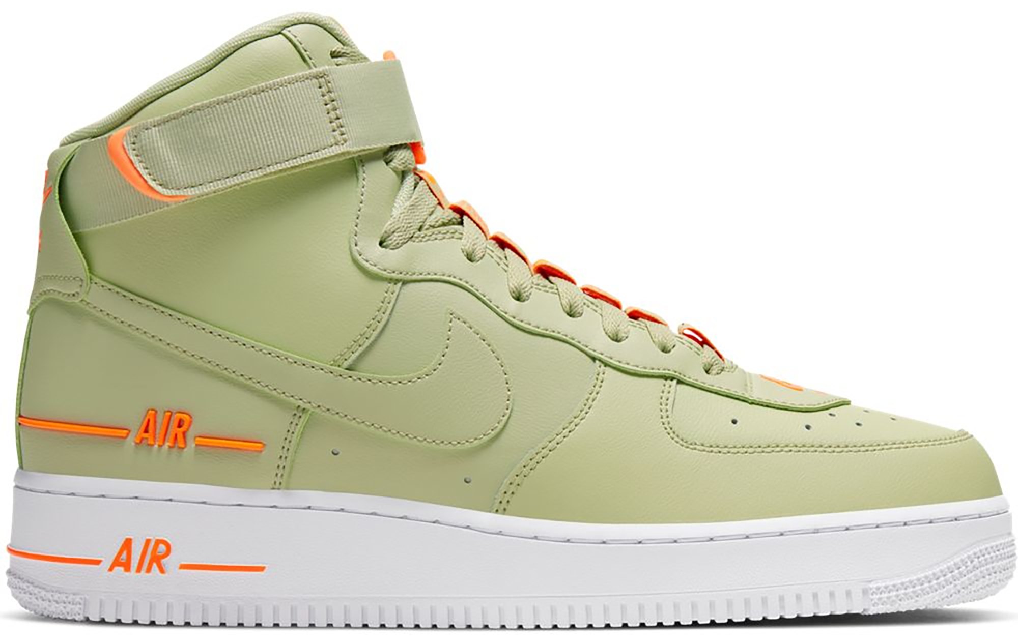 Nike Air Force 1 High Dual Air Olive