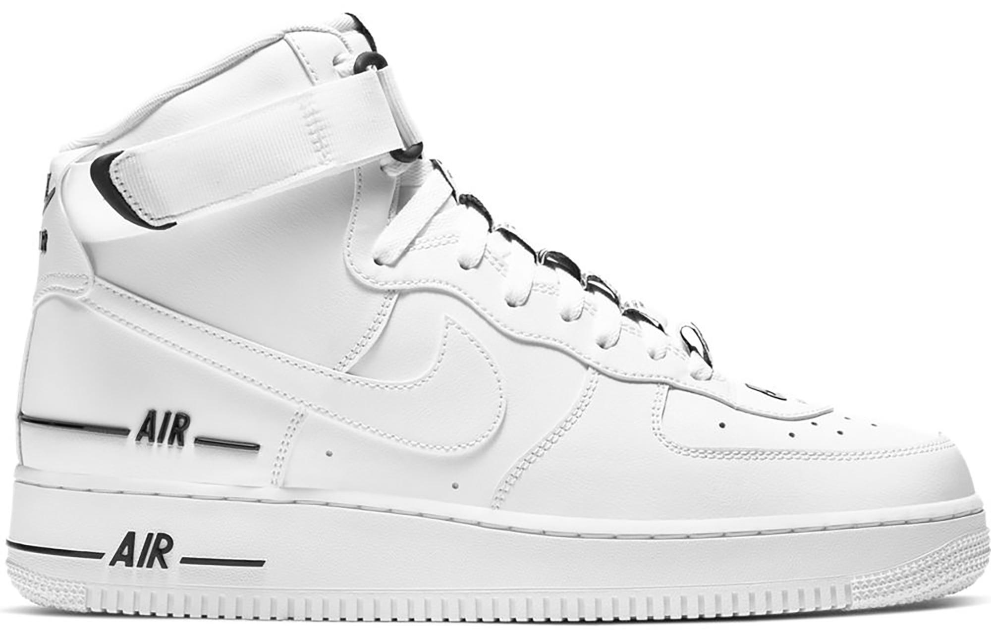 Nike Air Force 1 High Dual Air White