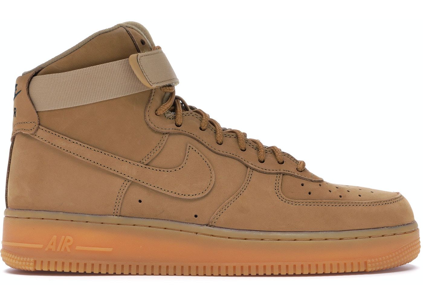 new style 9112c c2619 Air Force 1 High Flax (2017) - 882096-200