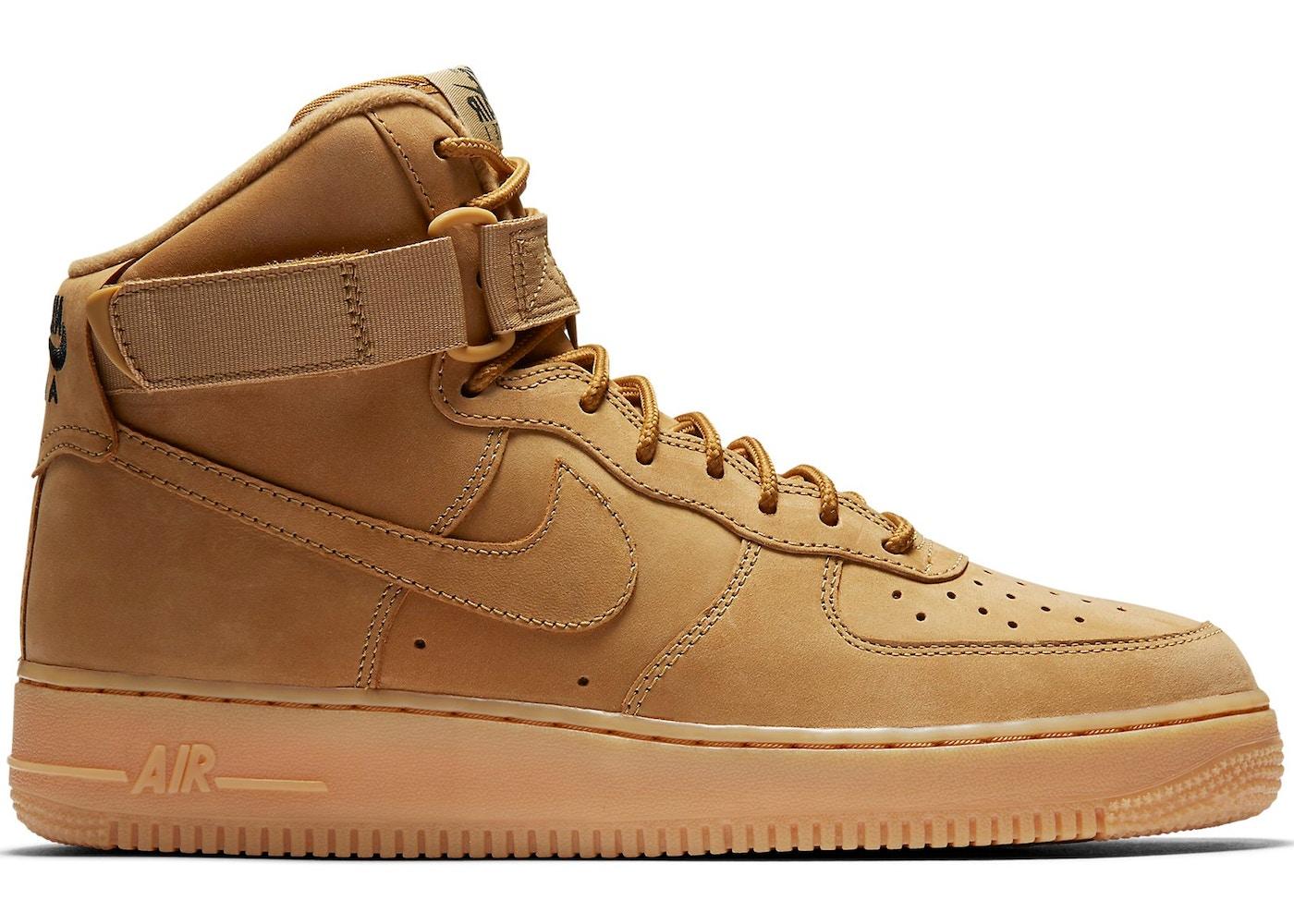 air force 1 high flax
