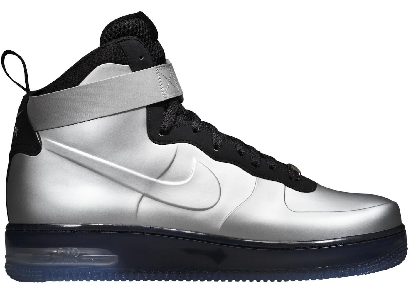 899fb56ec2bec Sell. or Ask. Size 9. View All Bids. Air Force 1 High Foamposite Silver