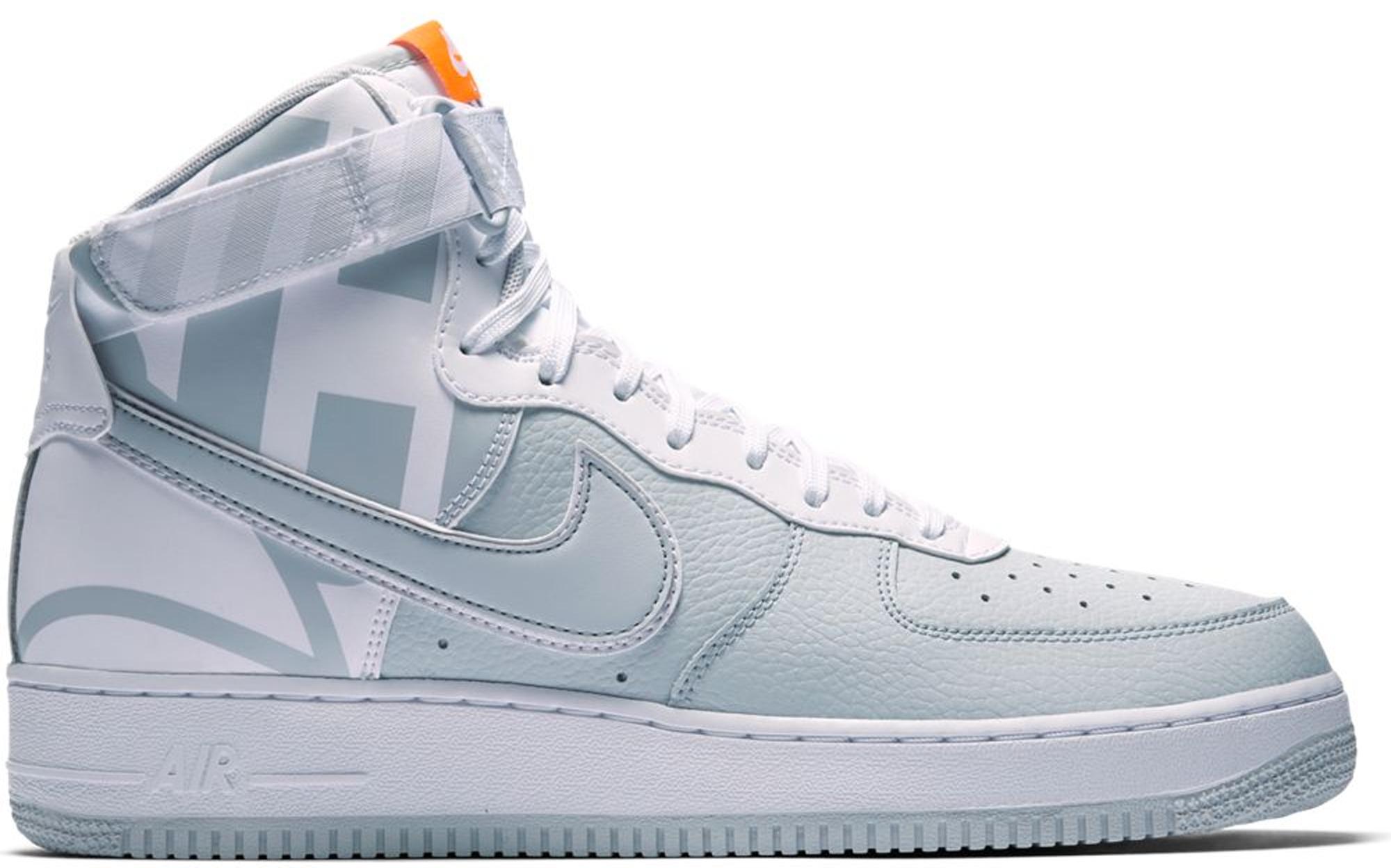 Nike Air Force 1 High Force Logo Pure