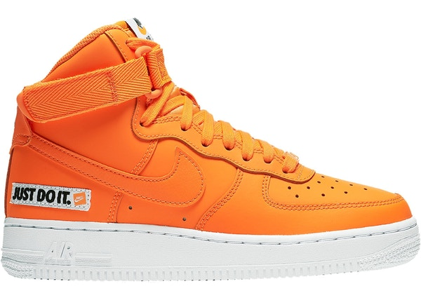 huge selection of dc19d e9d61 Air Force 1 High Just Do It Pack Orange (GS)