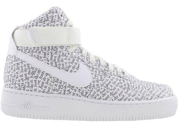 nike air force 1 high just do it
