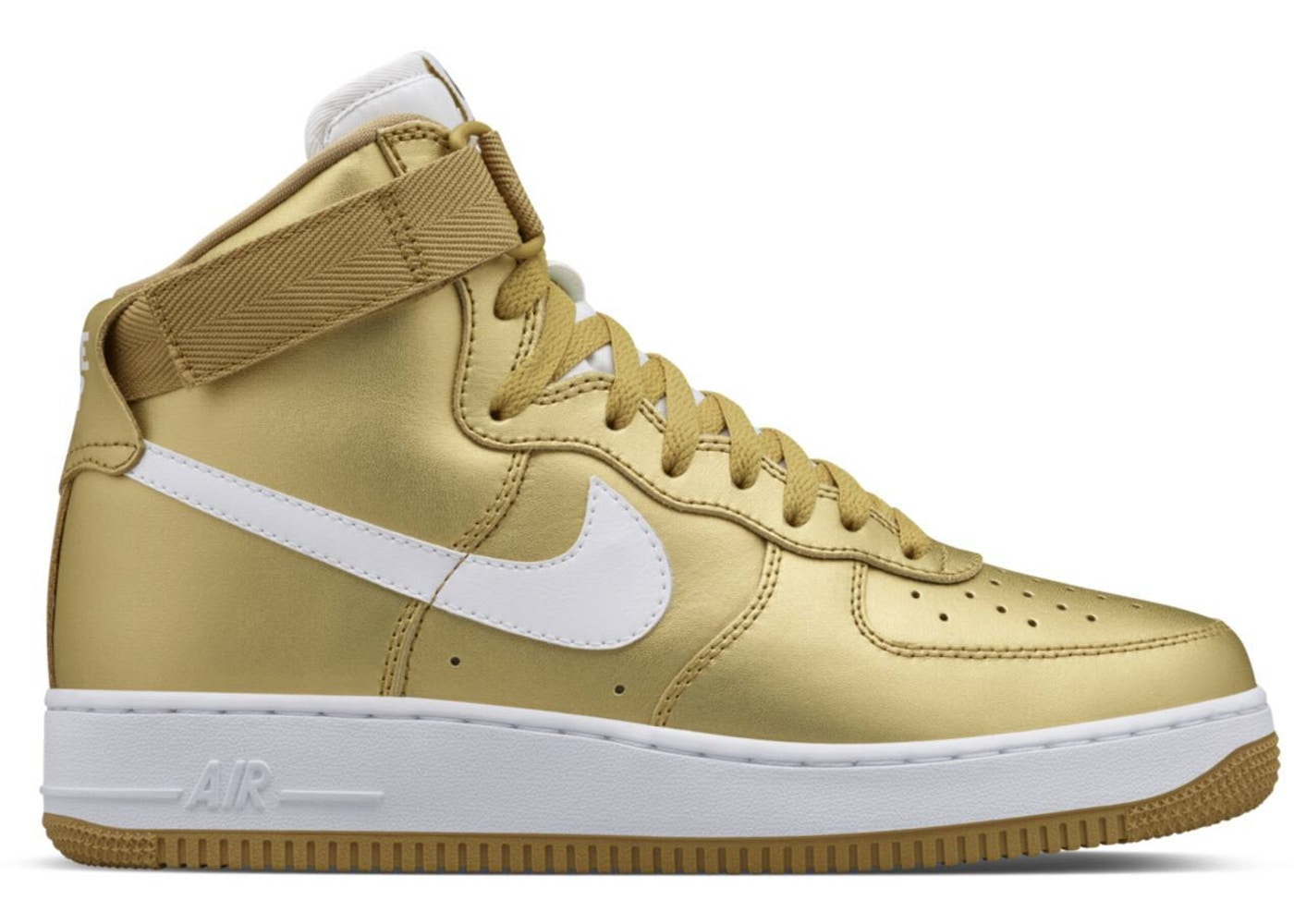 online retailer c52de 750c1 Sell. or Ask. Size  12. View All Bids. Air Force 1 High Metallic Gold