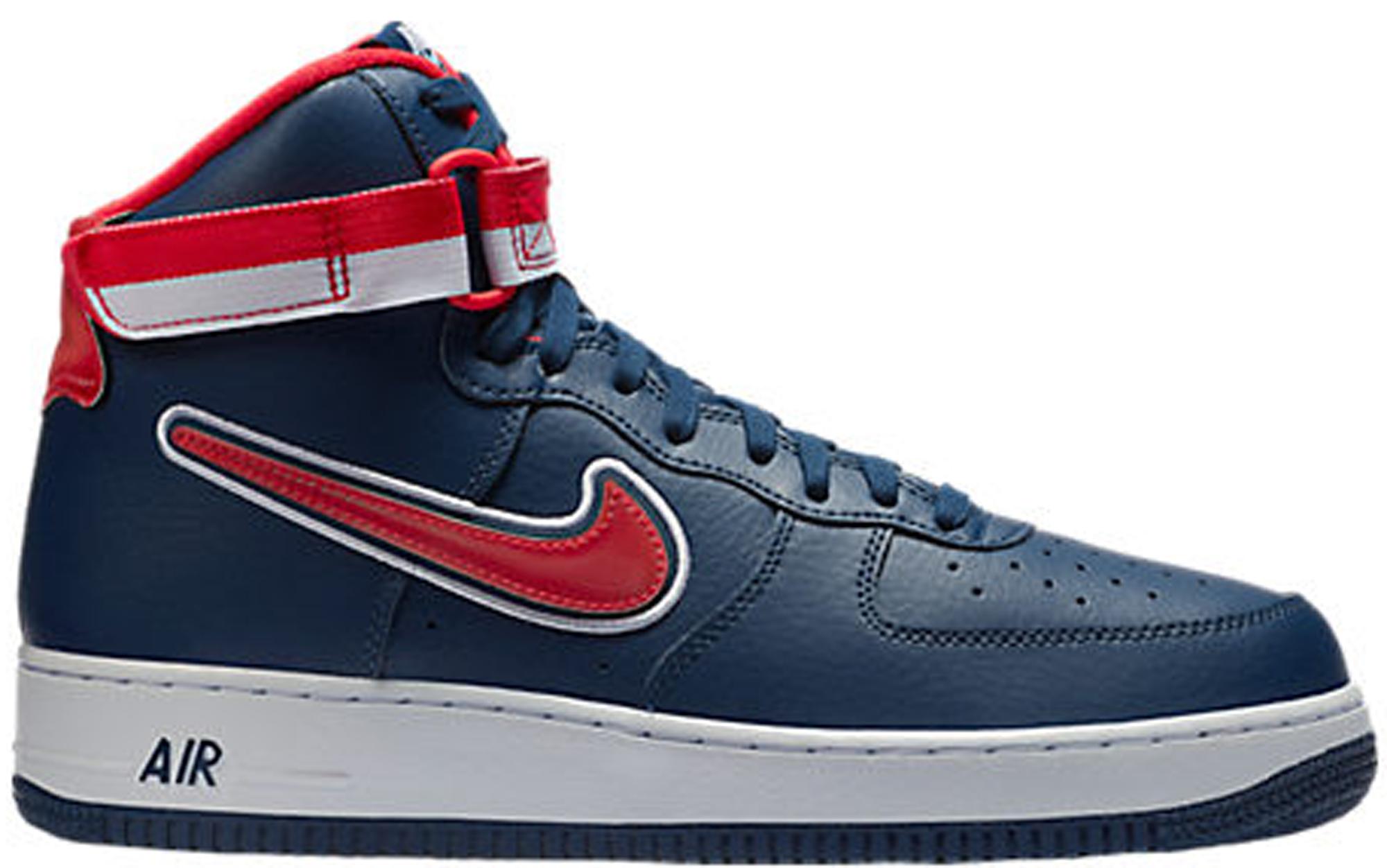 Nike Air Force 1 High NBA Midnight Navy