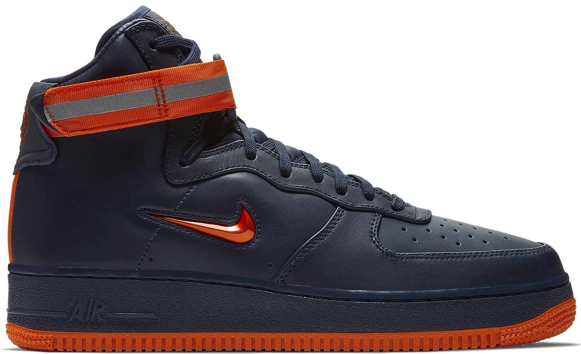 Air Force 1 High NYC Obsidian Orange