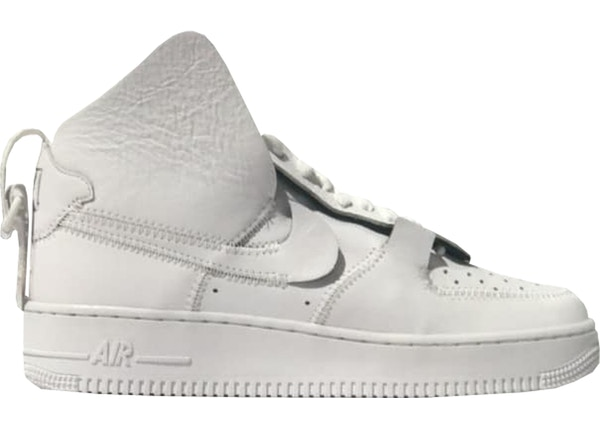 big sale 6d306 5cf7f Air Force 1 High PSNY Triple White (F F) - TBD