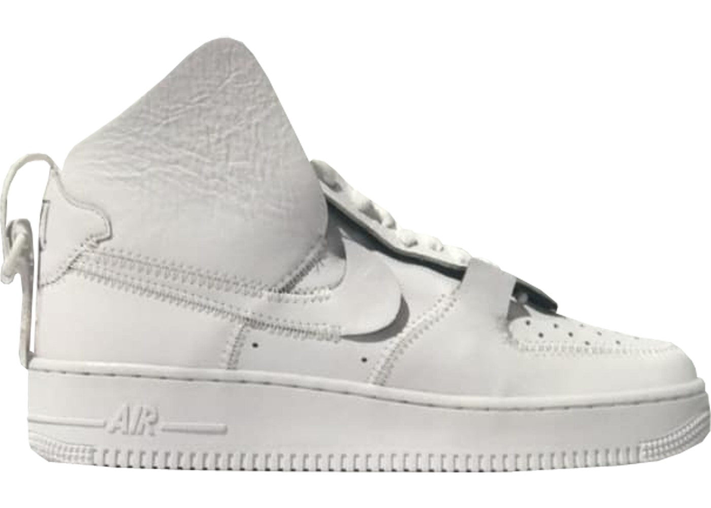 best sneakers fd806 27136 Air Force 1 High PSNY Triple White (F&F) - Sneakers