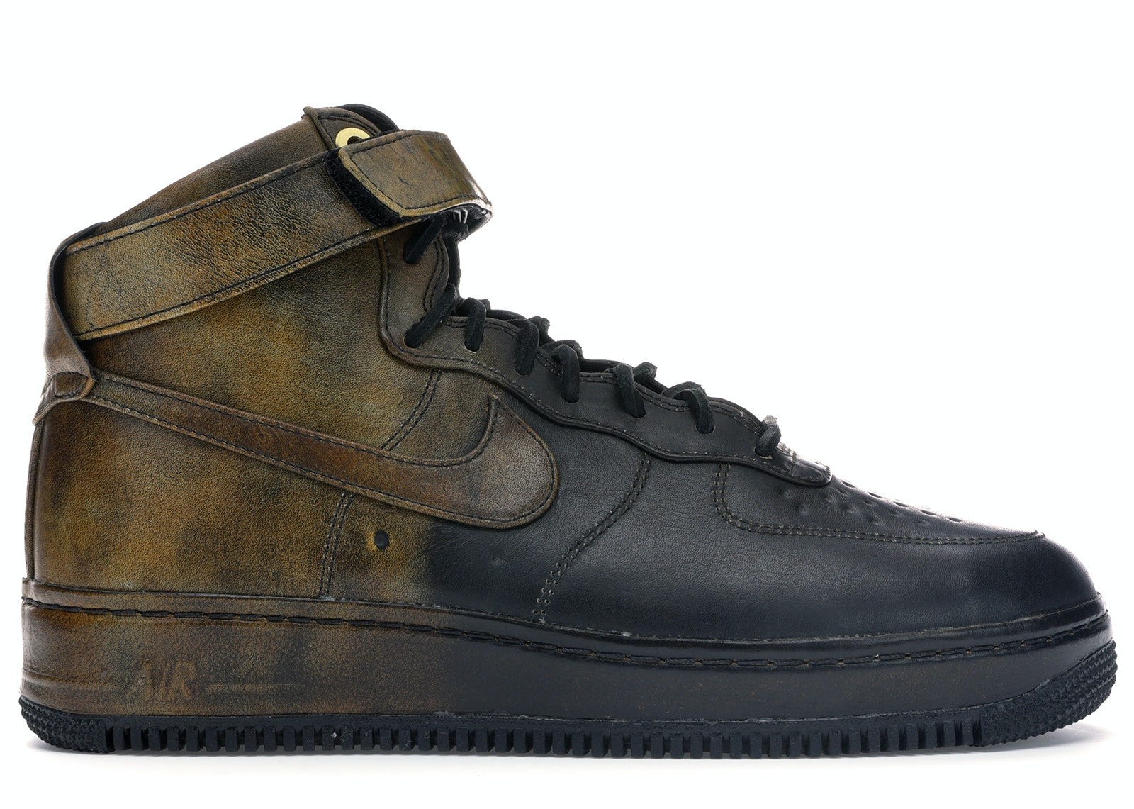 Air Force 1 High Pigalle Black Gold