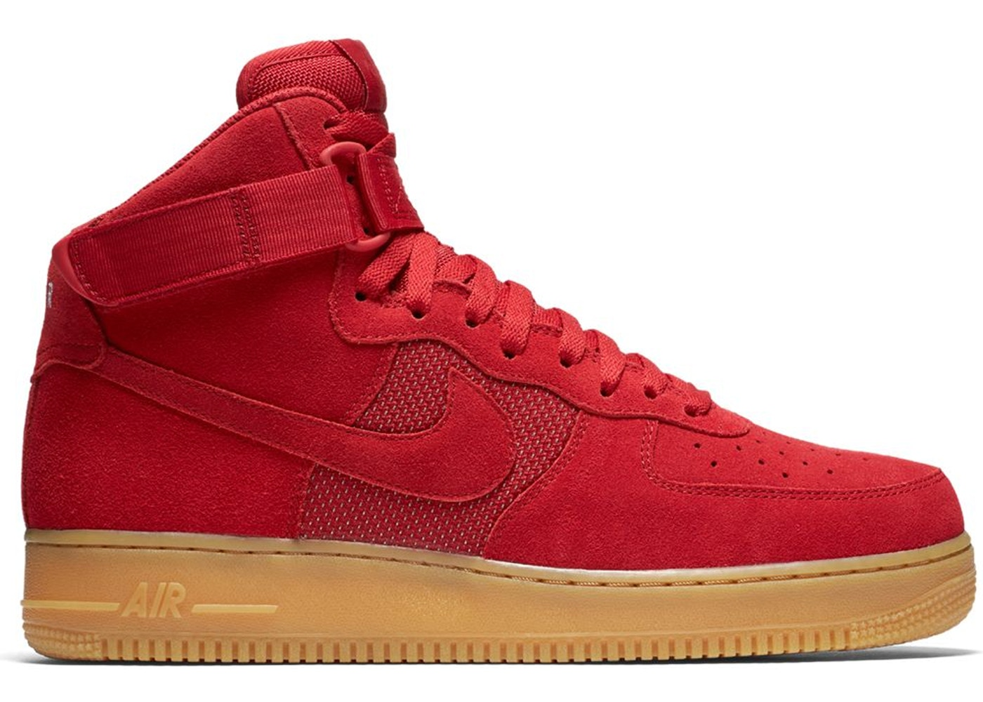red nike air force 1